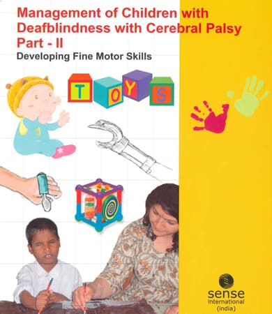 Cover page of Management of children with Deafblindness with Cerebral Palsy part-II