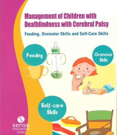 Cover page of Management of children with Deafblindness with Cerebral Palsy